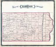 Harrison Township, Fayette County 1875